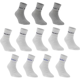 Donnay Quarter Socks 12 Pack Childrens