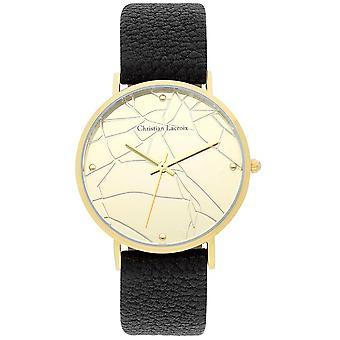 Katsella Christian Lacroix kellot CLFS1817 - katsella nahka musta nainen