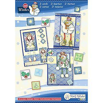 Marij Rahder Winter 3 3D Cards A5 (3 cards) (9.0087)