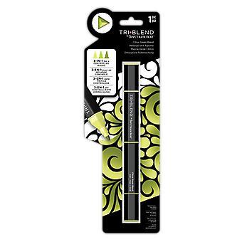 Spectrum Noir Triblend Marker Citrus Grüne Mischung