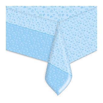 Baby Dreams Niebieski 24cm Papierowe talerze imprezowe