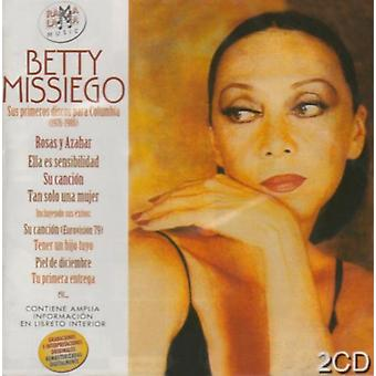 Betty Missiego - Sus Primeros Discos 1976-1980 [CD] USA import