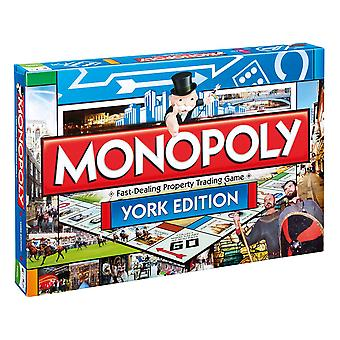 York Monopoly Board Game