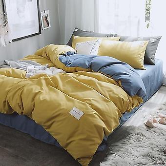 Neue Luxus reine Bettwäsche Set - moderne Bettdecke mit Zweibettbettbettlaken