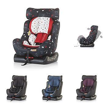 Chipolino Kindersitz Trax Neo Gruppe 0+/1/2 (0 - 25 kg), Leinen- und Jeansstoff