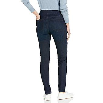Essentials Women's Pull-On Jegging, New Dark Wash, 4 Regular