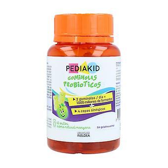 Pediakid Probiotic Gummies (Apple Flavor) 60 units (Apple)