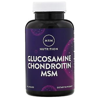 MRM, Nutrition, Glucosamine Chondroitin MSM, 90 Capsules