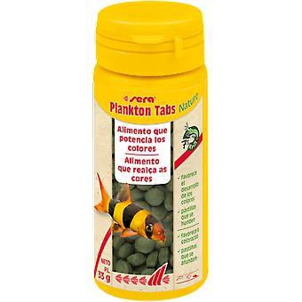 Sera Sera Plankton Tabs Sinking Tablets (Fish , Food , Warm Water)