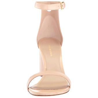 Stuart Weitzman Womens 75Lessnudist Open Toe Special Occasion Ankle Strap San...