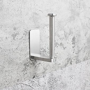 Stainless Steel Mount Toilet Paper Holder, Bathroom Kitchen Roll Paper