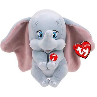 Ty Beanie Babie - Disney Dumbo Med Ljud Barn Leksak