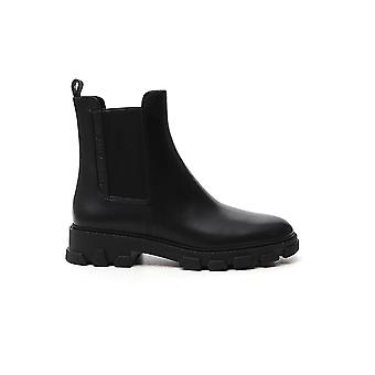 Michael By Michael Kors 40f0rife7l001 Women's Black Leather Ankle Boots