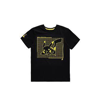 Pokémon - Attacking Pika - Men's T-shirt