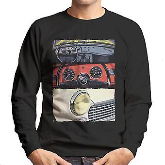 Austin Healey Montage British Motor Heritage Men's Sweatshirt