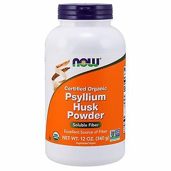 Nyt Elintarvikkeet Psyllium Husk, Powder 12 oz
