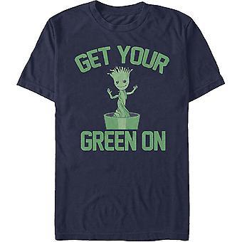 Groot Get Your Green op Marvel Comics T-shirt