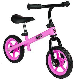 Xootz Metal Balance Bike pour enfants - Rose