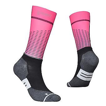 Fiber Fabric Cycling Socks- Professional Bike Team Aero Socks, High Quality
