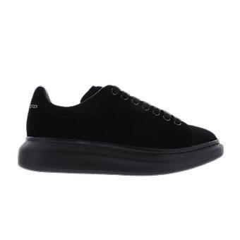 Alexander McQueen Sneakere Leath.S.Rubb. Daim Negru 553761WHV671000 pantof
