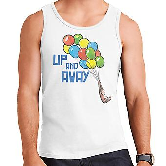 Curieux George Up And Away Ballons Men's Vest