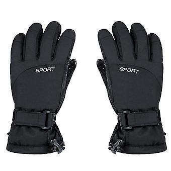 Handschuhe mit Touch und Antirutsch schwarz (L)