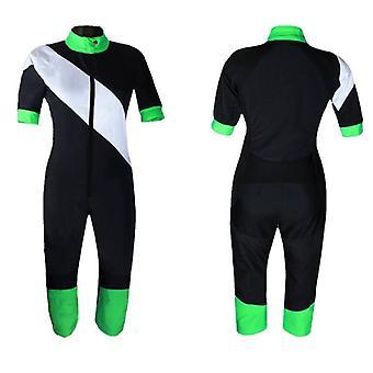 Costume d'été de parachutisme vert clair s2-01