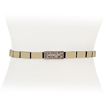 Diamond Stretch Striped Belt