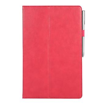 Leather Anti-fall case for Samsung Galaxy Tab A 8.0 T380 T385 Red rose