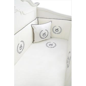 Lindo Caballo Embroidered Bedding Set, Baby Duvet Cover