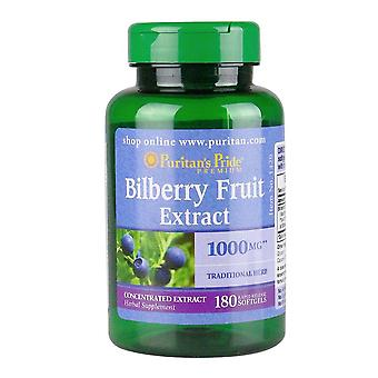 Bilberry Fruit Extract 1000 Mg