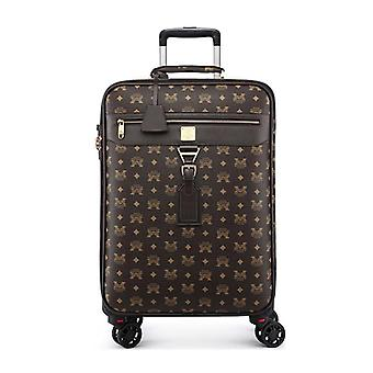 Rolling Luggage Spinner Students Password Suitcase/carry On Trolley Travel Bag
