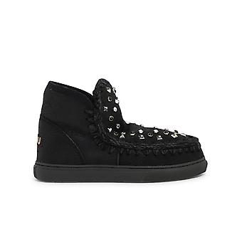 Mou Mufw111023bcbkg Women's Black Other Materials Ankle Boots