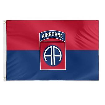 82nd Airborne Division Military Veteran Flag 3x5 Feet