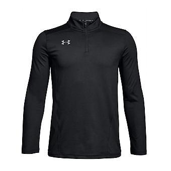 Under Armour Challenger II Midlayer 1/2 Zip Kinder Fitness T-Shirt Top T-Shirt schwarz