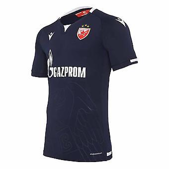 2020-2021 النجم الأحمر بلغراد قميص بعيدا