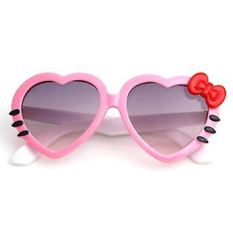 Cute Heart Bow Cat Sunglasses Summer Cartoon Eyewear