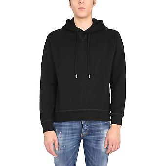 Dsquared2 S79gu0016s25042968 Men's Black Cotton Sweatshirt