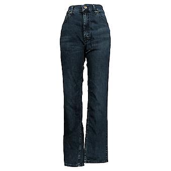 Lee Men's Straight Jeans 34x34 Regular Fit Dark Blue