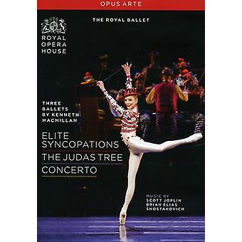 Three Ballets: Concerto Elite [DVD] USA import