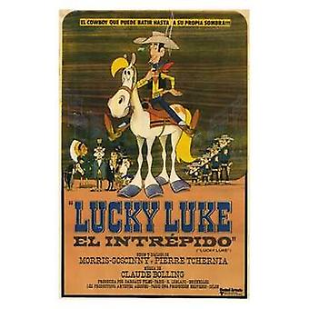 Lucky Luke elokuvan juliste (11 x 17)