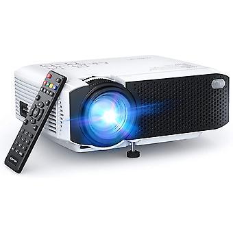 Portable Mini Projector 5500 Lumens Support 1080P Max LCD Home Cinema Projector