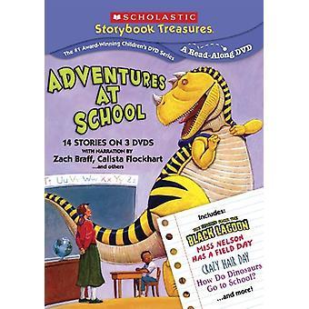 Scholastische terug naar School 3 Pak [DVD] USA import