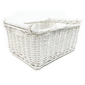 Kitchen Log Storage Basket With Handles