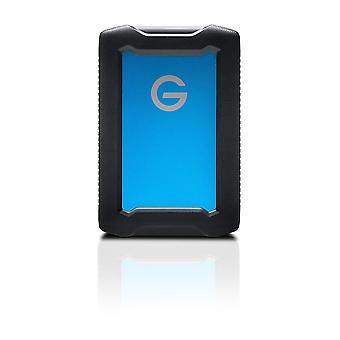 G-technology 2 tb armoratd, rugged, shock-proof and water-resistant external hard drive - usb-c, thu