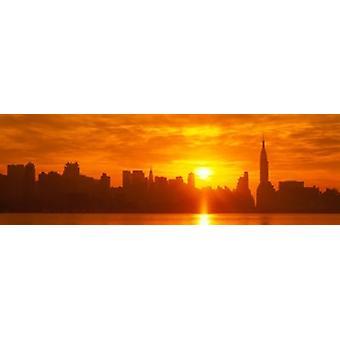 Stampa del manifesto di NYC New York City New York Stati UNITI dichiari