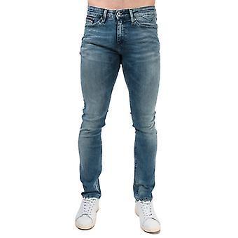 Menn's Tommy Hilfiger Slim Scanton Jeans i blått