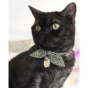 NECOICHI Ninja κολάρο γάτας σε πράσινο χρώμα