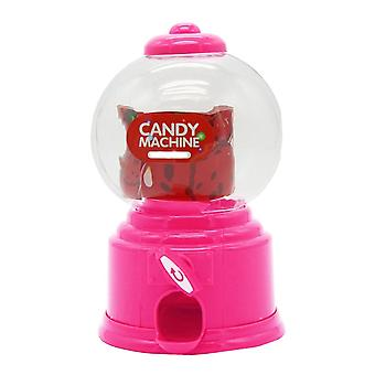 Cute Sweet Mini Candy Machine, Bubble, Gumball Dispenser, Coin Bank, Enfants