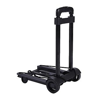 Folding Portable Push Trolley Travel Cart